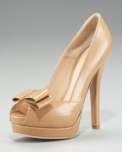 Fendi Patent Pumps Patent Sandals Pumps Heels Nude Platforms