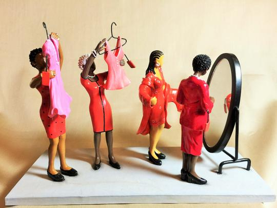 """Other """"FInal Red Tag Sale"""" Resin Figurine by Annie Lee; Sass'N Class Collection [SisterSoul Closet]"""
