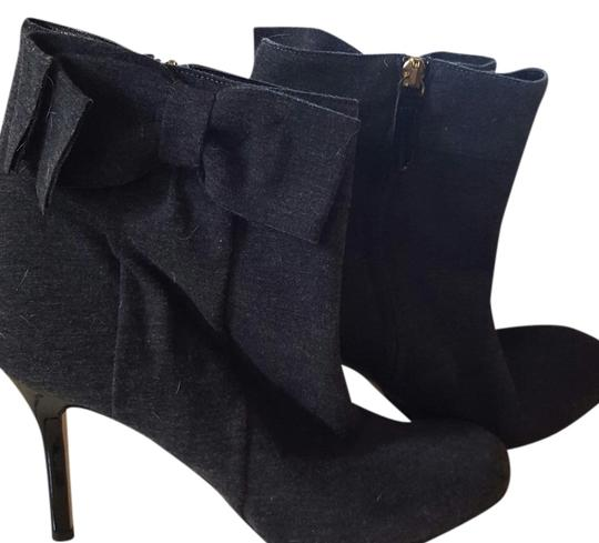 Kate Spade gray and black Boots