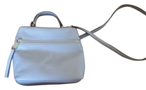 Perlina Leather Top Handle Cross Body Bag