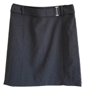 New York & Company Skirt Grey
