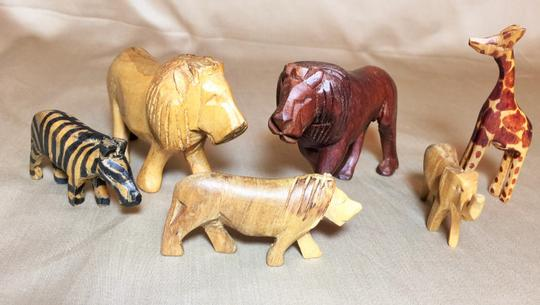 Other Safari Menagerie-Set of 6 [ SisterSoul Closet ]