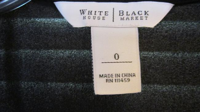 White House | Black Market Top Black silk