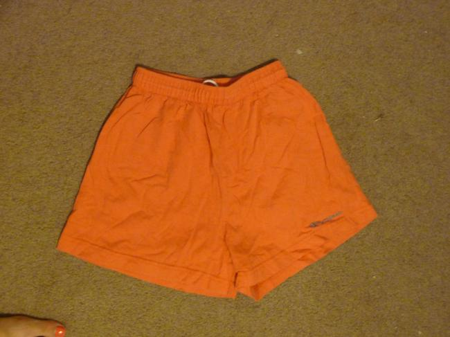 Champion Draw-string Waist Shorts Orange