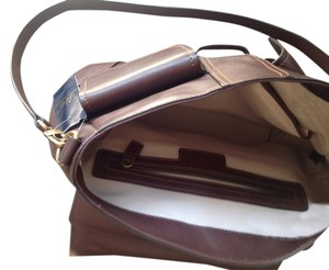 Brooks brothers Leather Brown Luxury Classy Shoulder Bag