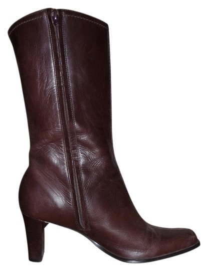 Other Heels Brown Boots