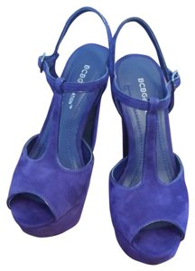BCBGeneration Bcbg Royal violet Platforms