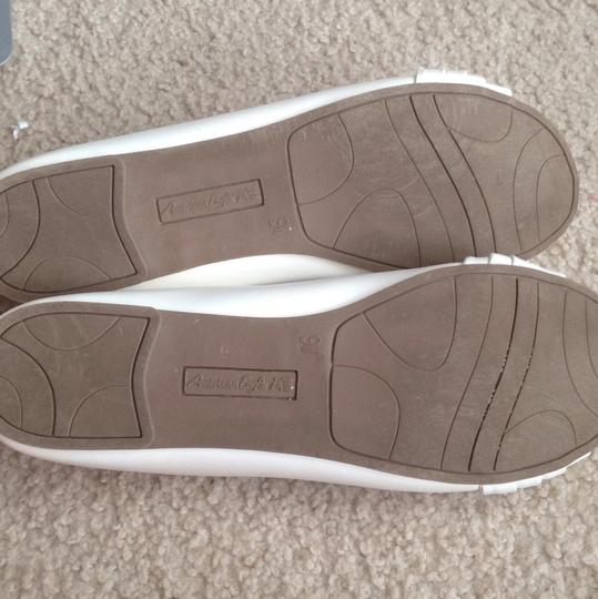American Eagle Outfitters White Flats