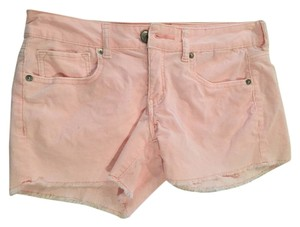 American Eagle Outfitters Corduroy Mini/Short Shorts Light Pink
