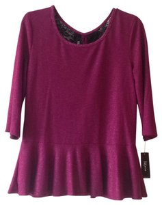 IZ Byer California Top Purple and Black