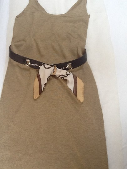 Cristella - Milano Cristella Milano Leather Belt with scarf. Made in Italy.