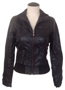 A is for Audrey Vegan Faux Leather Jacket