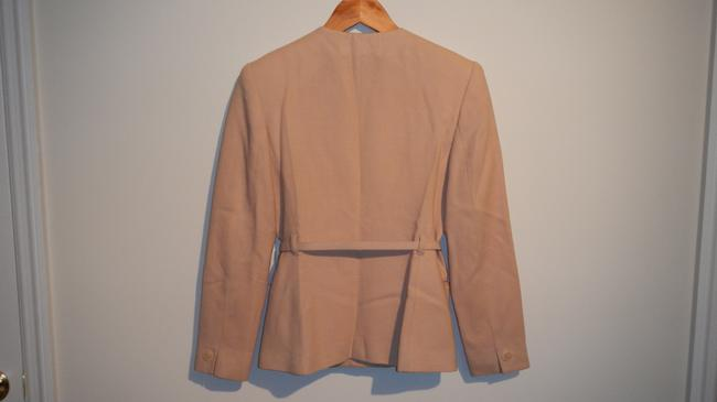 Jones New York Very Cute Light Beige Belted Suit