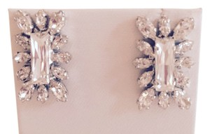Rodrigo Otazu PRICE DROP Hand-crafted Swarovski Crystal Earrings