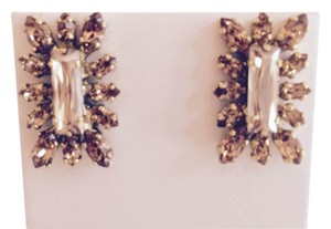 Rodrigo Otazu PRICE DROP Hand-crafted Swarvoski Crystal Earrings