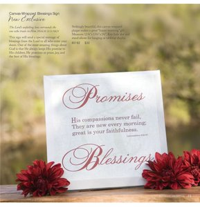 Blessings Unlimited Canvas Wrapped Blessings Sign
