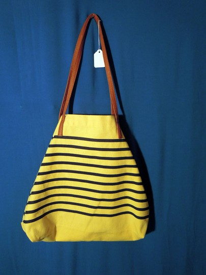 WFS Tote in yellow and navy