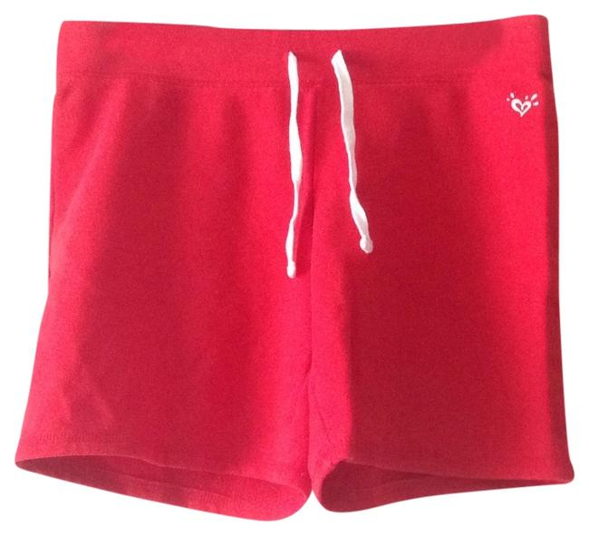 Justice Red Shorts