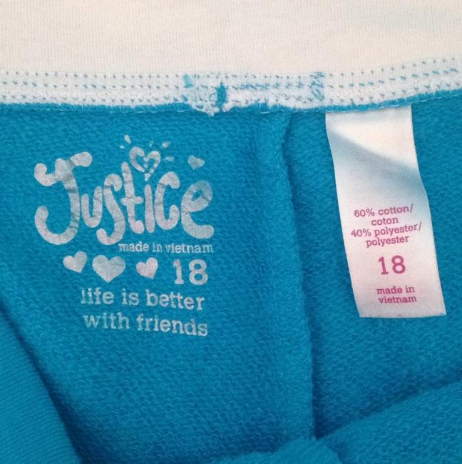 Justice Blue Shorts