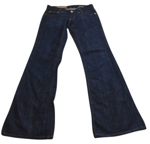 Jean Paul Damage Kick Flare Trouser Dark Denim Trouser/Wide Leg Jeans