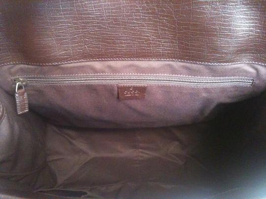 Gucci Beige/Red/Green Travel Bag