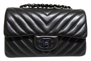 Chanel Rare Find 2015 Collection Lambskin Hardware Cross Body Bag