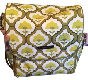 Petunia Pickle Bottom Green Diaper Bag