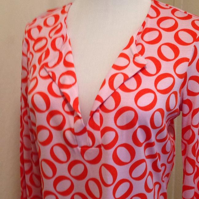 Diane von Furstenberg short dress Rings medium orange on Tradesy