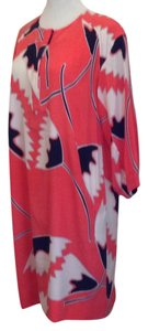 Diane von Furstenberg short dress African tulip, Deep coral on Tradesy