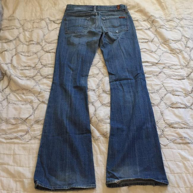 7 For All Mankind Kick Denim 70's 90s Flare Leg Jeans