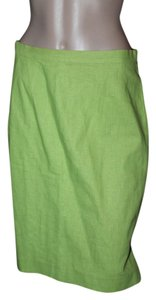 Maggy London Skirt LIME GREEN
