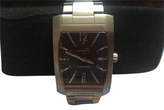 Preload https://item5.tradesy.com/images/tourneau-silver-large-square-face-unisex-watch-5162194-0-0.jpg?width=440&height=440