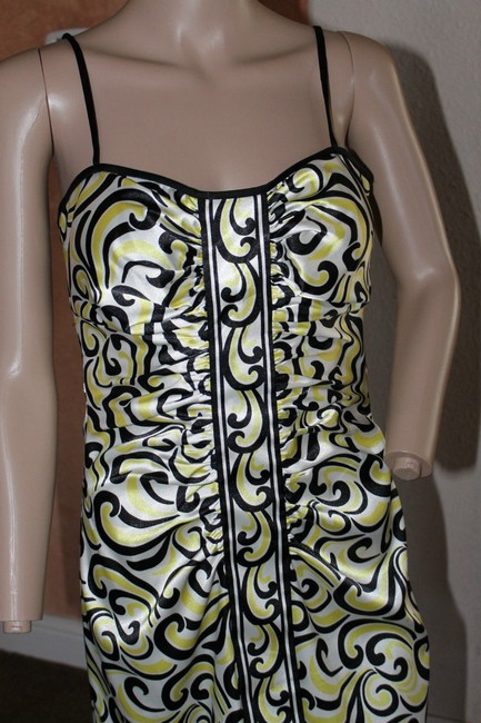 Maggy London short dress YELLOWS AND BLACKS on Tradesy