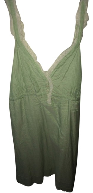 Preload https://item3.tradesy.com/images/joie-green-white-above-knee-short-casual-dress-size-12-l-5162482-0-0.jpg?width=400&height=650