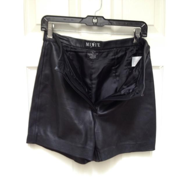Mixit Dress Shorts Black leather