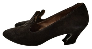 Charles Jourdan Black/Brown Pumps