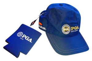 PGA Golf PGA Golf Hat Baseball Cap Style and matching coozie