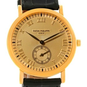Patek Philippe Patek Philippe Calatrava Officier 18k Yellow Gold Watch 5022