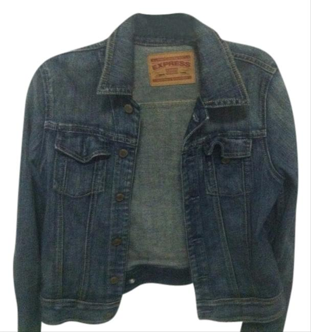 Express Jean Jacket Denim Womens Jean Jacket