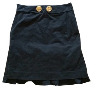 Anthropologie Skirt Blac