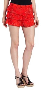 PJK Patterson J. Kincaid Paisley Xs Shorts Red