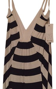 Navy and white striped Maxi Dress by Ella Moss