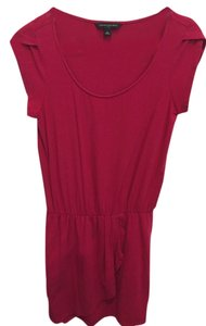 Banana Republic short dress Dark pink on Tradesy