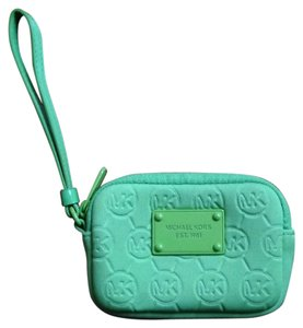 Michael Kors Wristlet in Lime Green