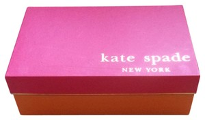 Kate Spade Pink and Orange Flats