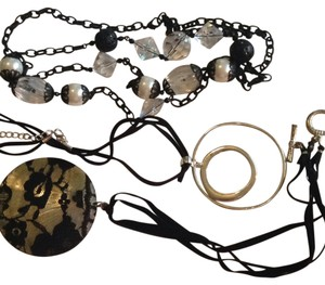 Target 3 Assorted Black Necklaces
