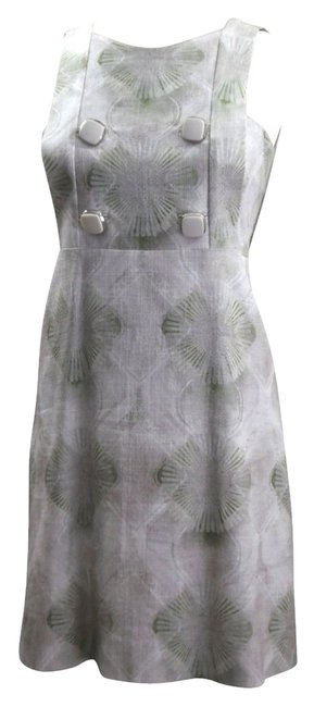 Preload https://item4.tradesy.com/images/chloe-greys-greens-2007-collection-shift-a-line-eau-4-knee-length-short-casual-dress-size-6-s-5164828-0-0.jpg?width=400&height=650