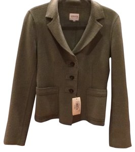 Armani Collezioni Cashmere New Classic Limited Edition Rare Soft Must-have Sale New With Tags Nwt Paris Leather Vintage Monogram Gold Green Blazer