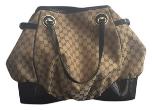 Gucci Tote in Tan, Black