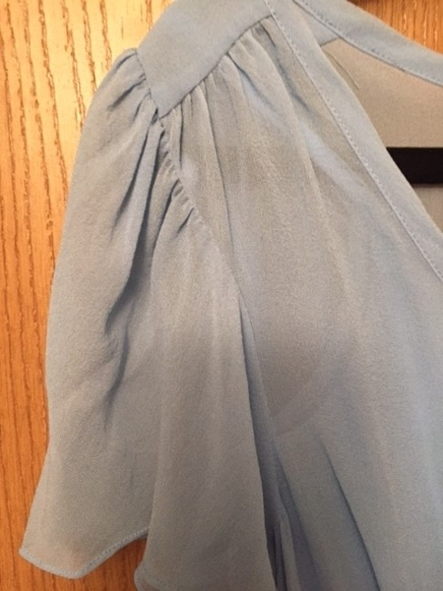 The Limited Silk Never Worn Top Powder Blue